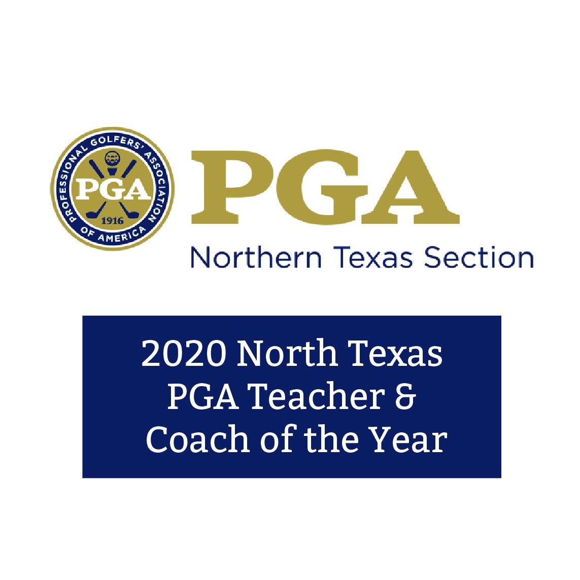 2020 North Texas PGA Teacher/Coach of the Year
